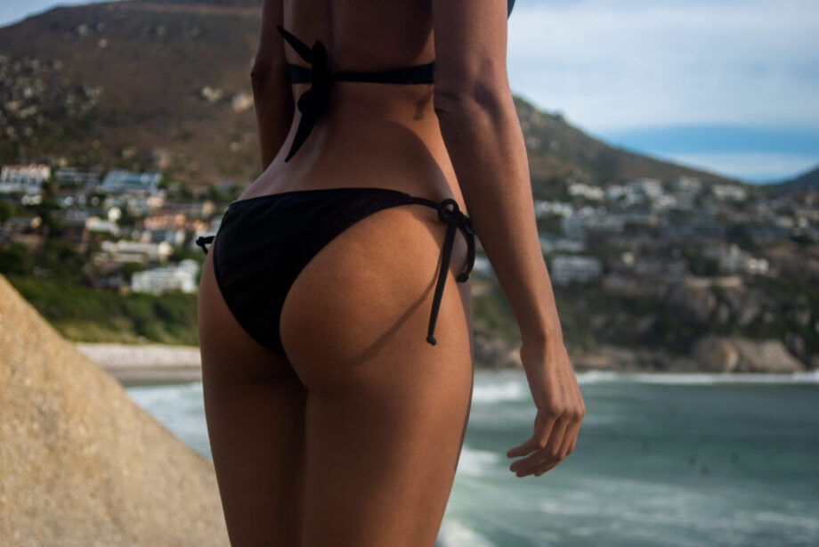 Black bikini bottom Münster adjustable