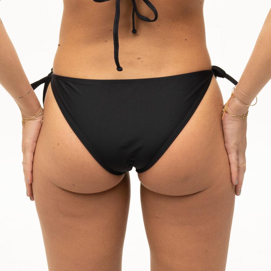 Black bikini bottom with bows