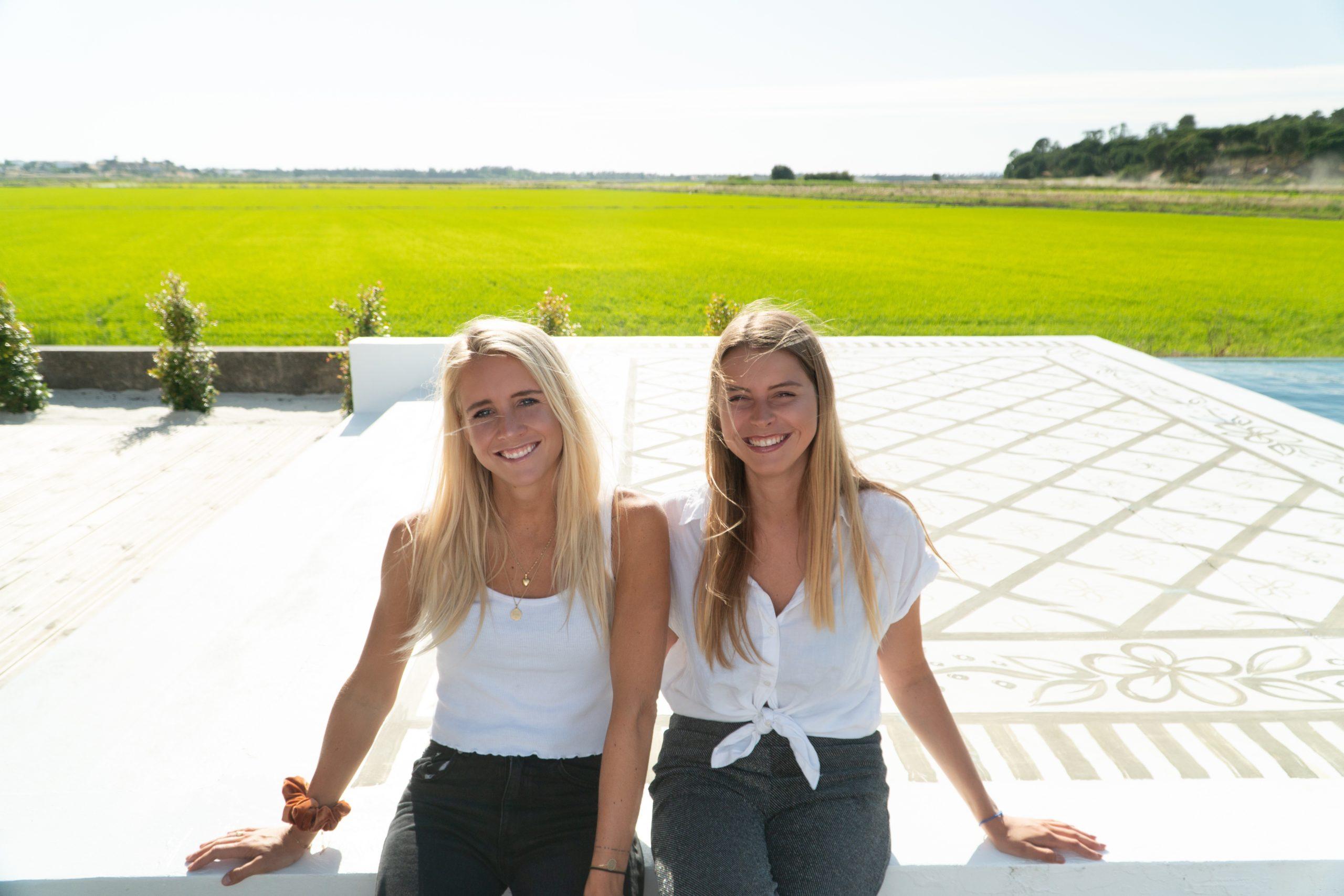 WONDA founders Kim Flint and Teresa Brouwers in Portugal