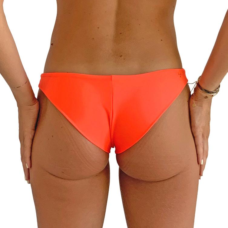 orange bikini bottom