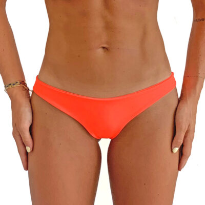 orange bikini bottom