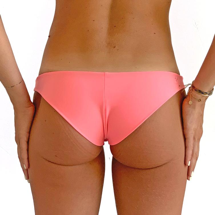 Pink bikini bottom