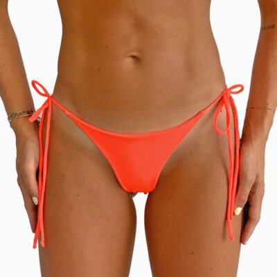 Orange bikini bottom from MilenaLe Secret limited edition