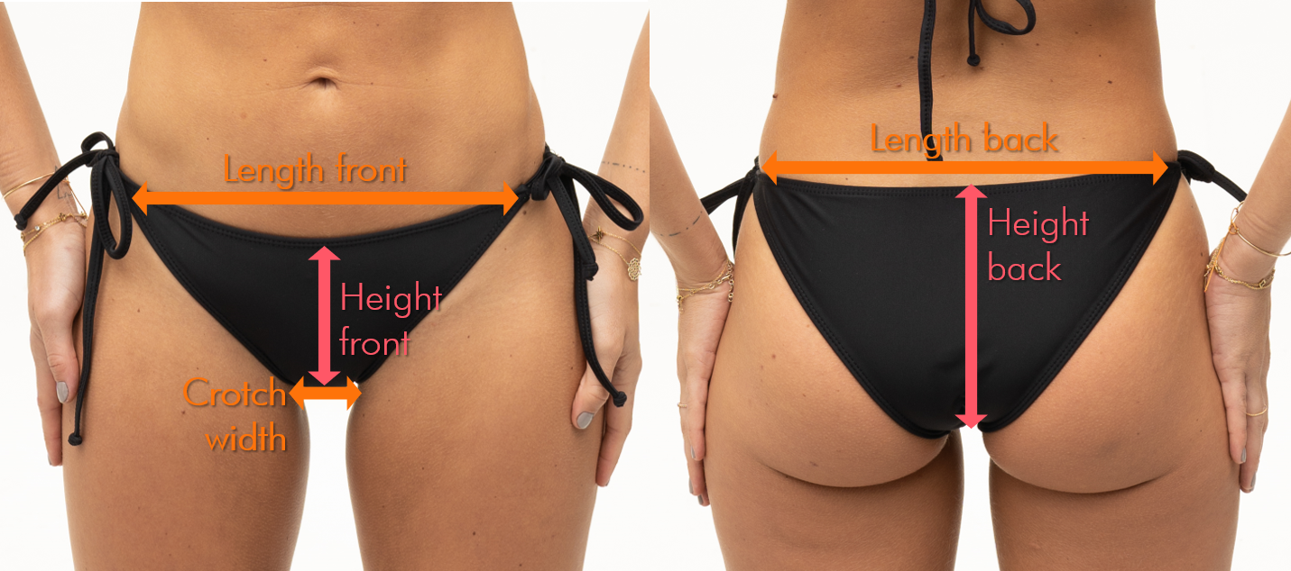 Well covered bikini bottoms fitting support