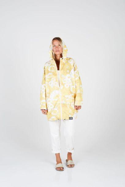 eco-friendly rain jacket by Insane in the rain