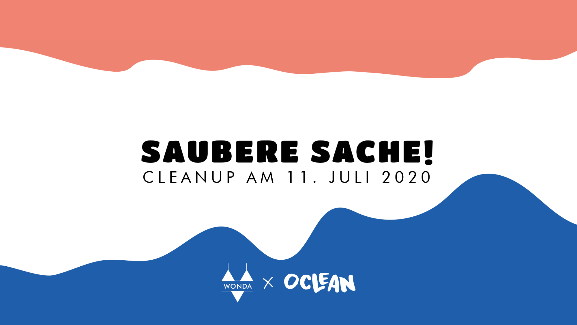 Event header saubere sache cleanup event hamburg im Juli 2020