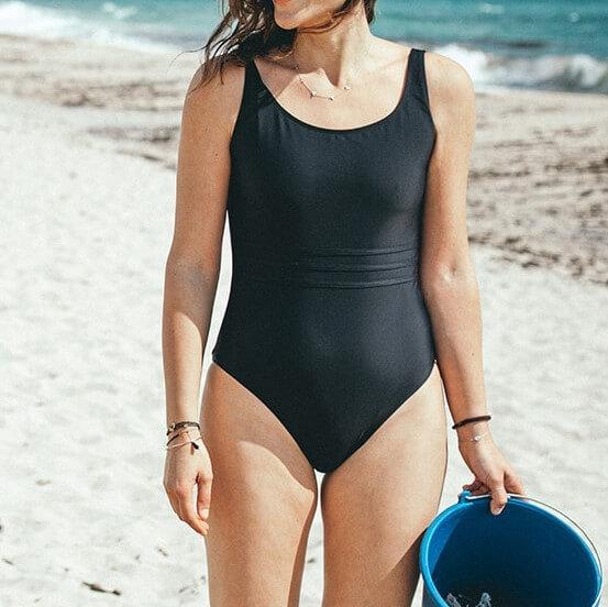 Black tempered classic WONDA swimsuit